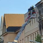 Brand in der Ludwig-Wucherer-Straße in Halle