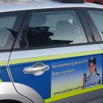 Polizei in Magdeburg stellt Täter mit entwendetem PKW neben einem aufgebrochenen PKW