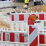 Sanierungsarbeiten im Bereich der A 38 bei Sangerhausen