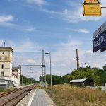 Lebensgefahr! - Spielende Kinder im Gleis in Bad Dürrenberg