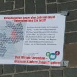 Volksbegehren startet großes Sammelwochenende gegen den Lehrermangel in 20 Städten in Sachsen-Anhalt