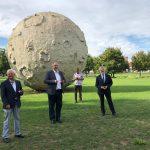 """""""Gartenträume"""" gehen online: Minister nimmt WLAN für Aschersleber Parks in Betrieb"""