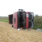 Lkw-Fahrer stirbt bei Unfall in Deersheim im Harz