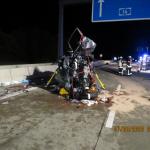 Zwei Tote, drei Verletzte: Falschfahrer verursacht schweren Unfall auf der A14 am Kreuz Magdeburg