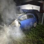 Zwei Autos in Salzwedel angezündet, Verdächtiger festgenommen