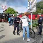 Radfahrer-Großkontrollen im Harz