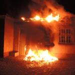 Brand eines Müllcontainers in Gardelegen