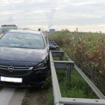 Unfall auf der A38 bei Bad Lauchstädt
