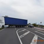 Betrunkener LKW-Fahrer verursacht Unfall bei Brumby