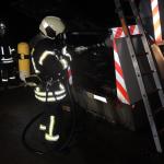 Super-Blitzer auf der A14 abgefackelt - 100.000 Euro Schaden