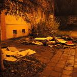 Sperrmüll in Oschersleben brannte