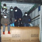 Kühlschränke und fünf Menschen geladen - Nächste LKW-Schleusung endet an der A2 in Sachsen-Anhalt