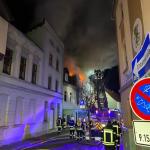 Familien verlieren kurz vor Weihnachten ihr Heim: Brand eines Mehrfamilienhauses in Oschersleben