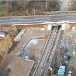 Bahnbauprojekt Roßlau-Dessau: Nächste Stufe der Arbeiten an Eisenbahnüberführung und Haltepunkt Meinsdorf beginnt