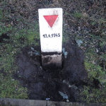 Gedenksteine für den Todesmarsch zur Isenschnibber Feldscheune wurden beschädigt