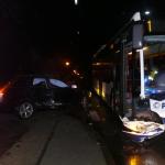 Unfall zwischen Linienbus und PKW in Salzwedel
