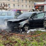 PKW in Stendal ausgebrannt