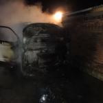 PKW in Wegeleben im Harz brannte