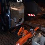 Räumfahrzeug in Thale demoliert