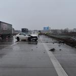 Unfälle auf der A9, A14 und A38