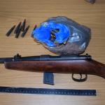 Verfolgungsjagd von Haldensleben bis Bernburg - Waffen und Munition bei Täter gefunden