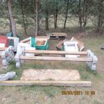 8 Bienenkästen mit Waben in Salzwedel zerstört