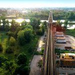 Eisenbahnbrücke über die Elbe in Magdeburg wird für Züge bis September komplett gesperrt