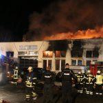 300.000 Euro Schaden: Autowerkstatt in Eisleben abgebrannt