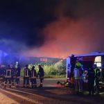 Mehr als 100.000 Euro Schaden bei Lagerhallenbrand in Könnern