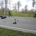 Zwei Motorradfahrer sterben bei Unfall auf der B81 bei Hasselfelde im Harz
