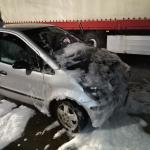 Smart in Blankenburg brannte - wahrscheinlich technischer Defekt