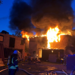 80.000 Euro Schaden bei Reihenhaus-Brand in Ballenstedt