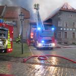 100.000 Euro Schaden: Brand auf Vierseitenhof in Wegeleben im Harz